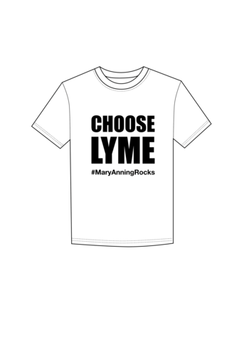 Mary Anning Rocks Choose Lyme t-shirt